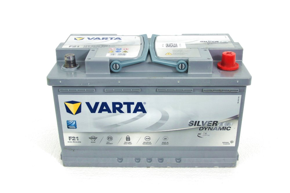 batterie auto start stop varta 12v 80ah 800a f21 la casa della batteria. Black Bedroom Furniture Sets. Home Design Ideas
