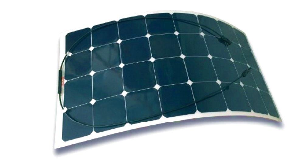 Pannello Solare Flessibile Barca : Pannello solare semi flessibile per nautica la casa della
