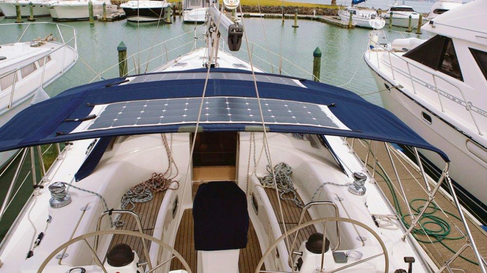 Pannello Solare Flessibile Nautico : Pannello solare semi flessibile per nautica la casa della