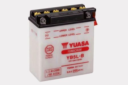 YB5L-B YuMicron (€ 32,00)  BATTERIA MOTO YUASA