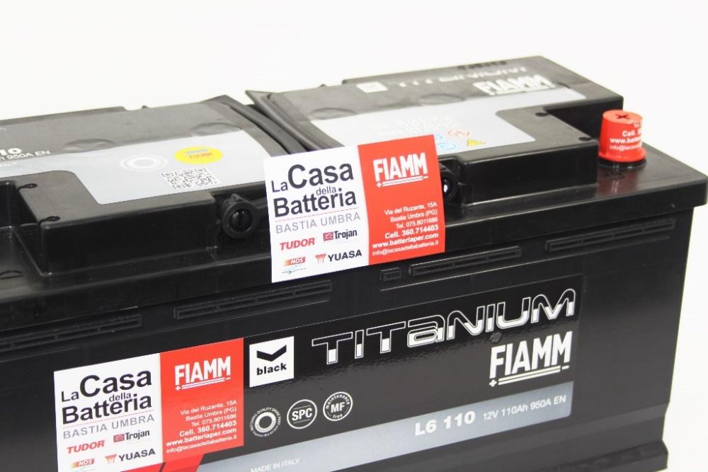 batterie auto furgone fiat ducato 3000cc fiamm l6 110 110 ah 950a la casa della batteria. Black Bedroom Furniture Sets. Home Design Ideas