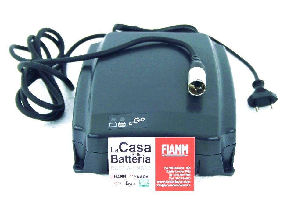 caricabatterie per scooter elettrici