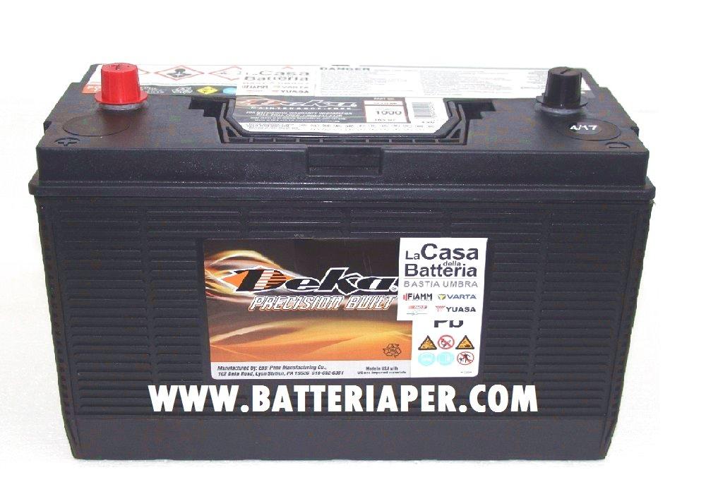 Batteria deka pmf 1231 batteria per caterpillar la casa della batteria - Batteria per casa ...